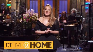 Adele Jokes About Her Weight Loss, Sings Her Hits on 'SNL' | ET Live @ Home