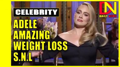 Adele jokes about weight loss, sings hits on 'Saturday Night Live'