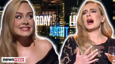 Adele Pokes Fun At Her Weight Loss On 'SNL'