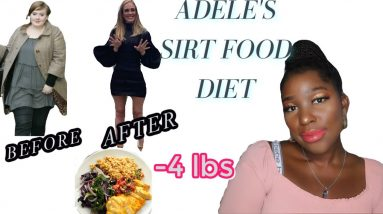 I TRIED ADELE'S WEIGHT LOSS DIET FOR 7 DAYS (sirtfood diet)