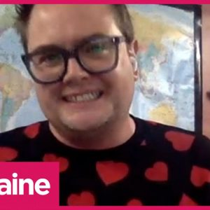 Alan Carr Wants Us To Stop Talking About Adele's Weight Loss & Rivalry With Judge Rinder | Lorraine