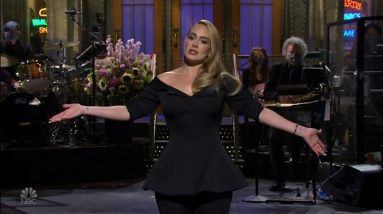 Adele jokes about weight loss hosting Saturday Night Live (USA) - ITV News - 25th October 2020